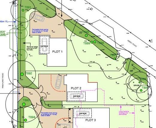 Thumbnail Land for sale in Abbey Road, West Moors, Ferndown, Dorset