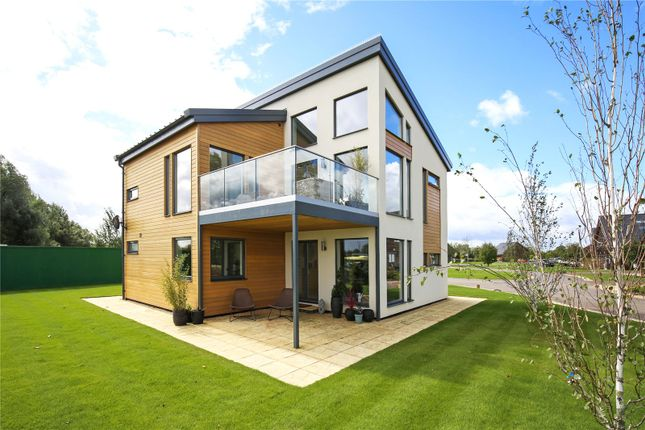 Thumbnail Detached house for sale in Waters Edge, Lake 10, Cerney Wick Lane, South Cerney