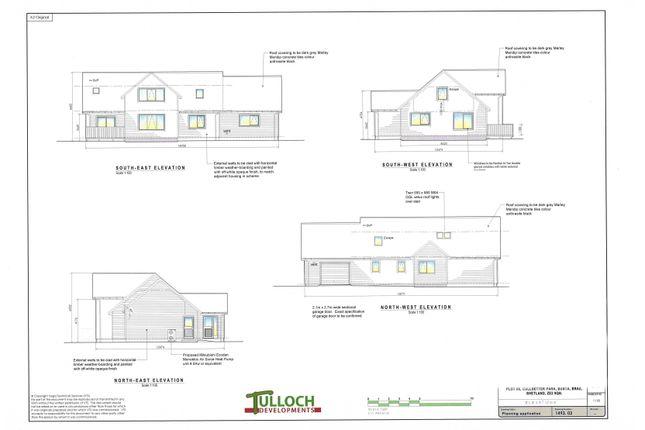 Thumbnail Detached house for sale in Cullsetter Park, Brae, Shetland