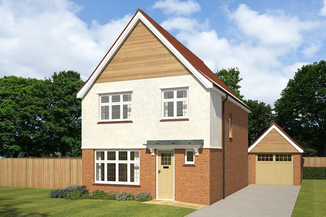 "Thumbnail Detached house for sale in ""Warwick"" at Littledown, Shaftesbury"
