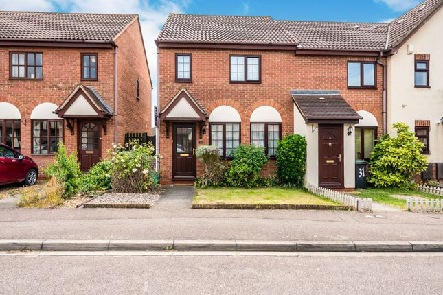 Thumbnail Terraced house for sale in Bunyan Road, Biggleswade
