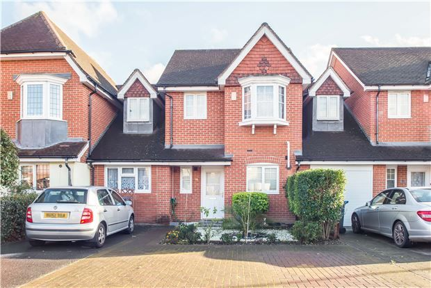 5 bed terraced house for sale in Marl Field Close, W Park, Surrey