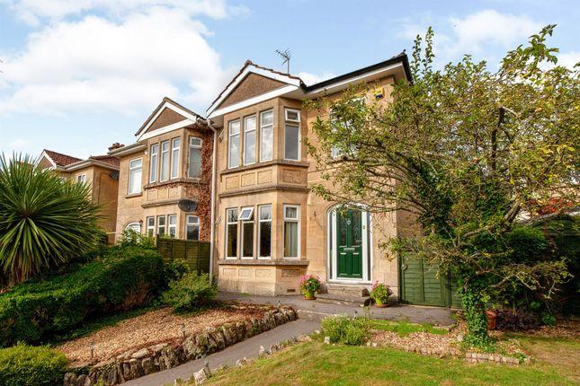 Thumbnail Town house for sale in London Road East, Batheaston, Bath