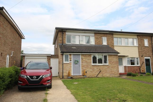 Thumbnail End terrace house for sale in Western Way, Letchworth Garden City