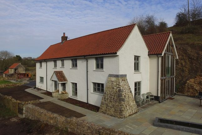 Thumbnail Detached house for sale in Winterhead, Winscombe, Somerset