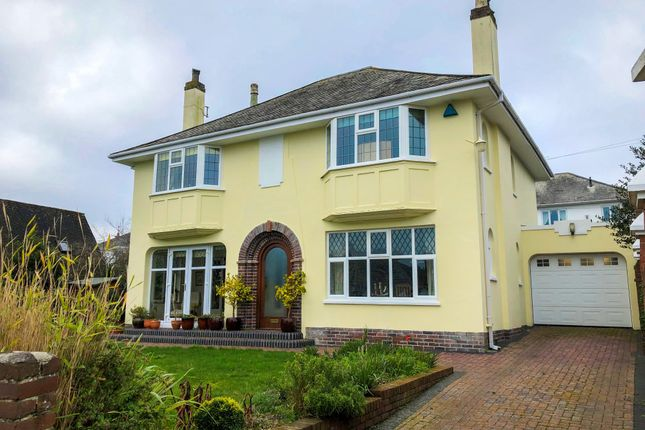 Thumbnail Detached house for sale in The Grove, Stoke, Plymouth