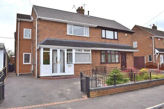 Thumbnail Semi-detached house for sale in Field Avenue, Baddeley Green, Stoke On Trent
