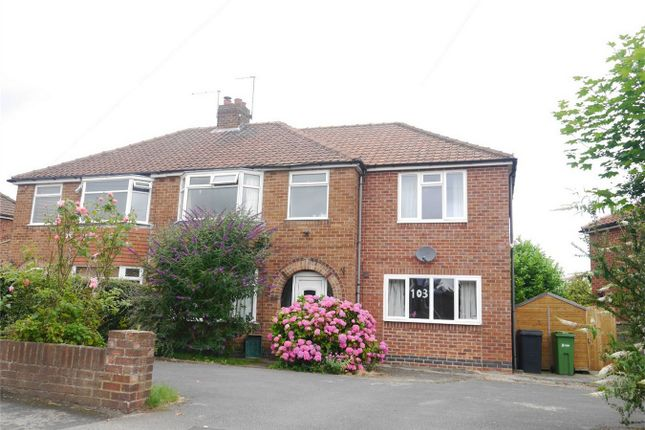 Thumbnail Semi-detached house to rent in Newland Park Drive, Hull Road, York