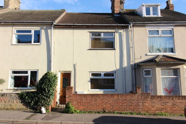 Thumbnail Terraced house to rent in Princes Road, Lowestoft, Suffolk
