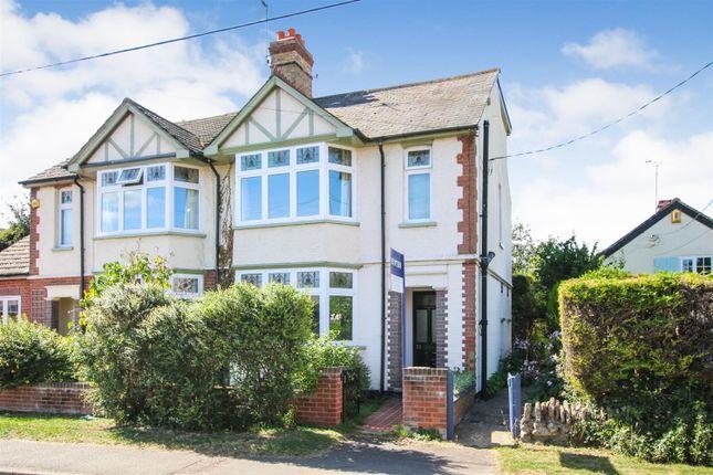 Thumbnail Semi-detached house for sale in High Street, Cheddington, Leighton Buzzard