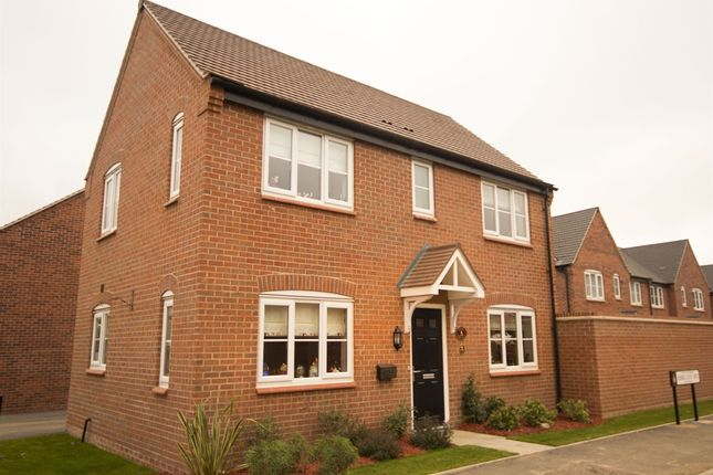 "Thumbnail Detached house for sale in ""The Clayton"" at Ward Road, Clipstone Village, Mansfield"