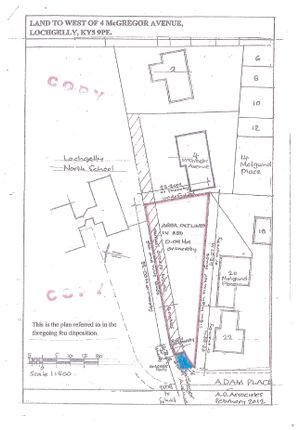 Picture No. 05 of Land To West Of, 4 Mcgregor Avenue, Lochgelly, Fife KY5