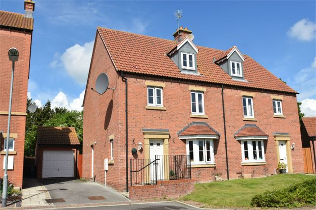 Semi-detached house for sale in 8 Heather Court, Norton, Norton, North Yorkshire