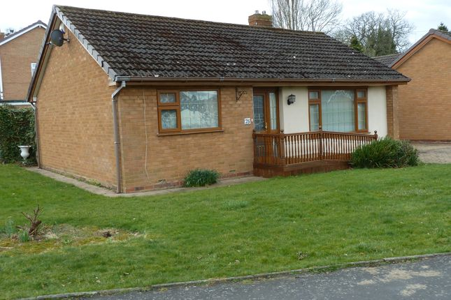 Thumbnail Detached bungalow for sale in Suckling Green Lane, Codsall
