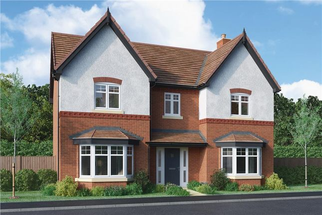 """Thumbnail Detached house for sale in """"Aston"""" at Burton Road, Streethay, Lichfield"""