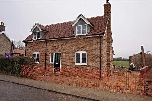 Thumbnail Detached house for sale in The Street, Brettenham