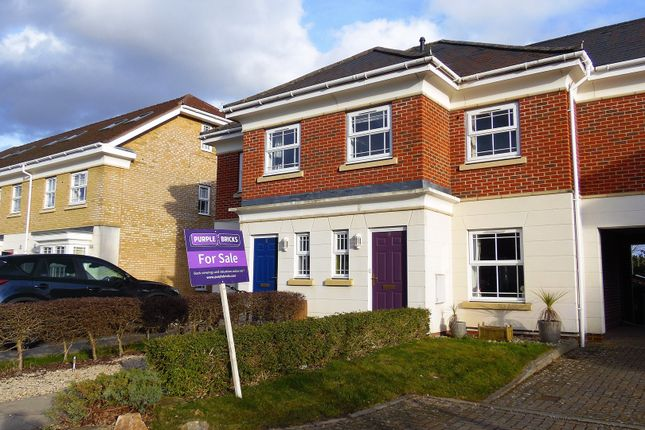 Thumbnail Semi-detached house for sale in Strawberry Court, Camberley