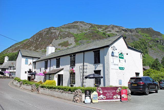 Thumbnail Pub/bar for sale in Historic Village Inn On Powys/Shropshire Borders SY10, Llangynog, Powys