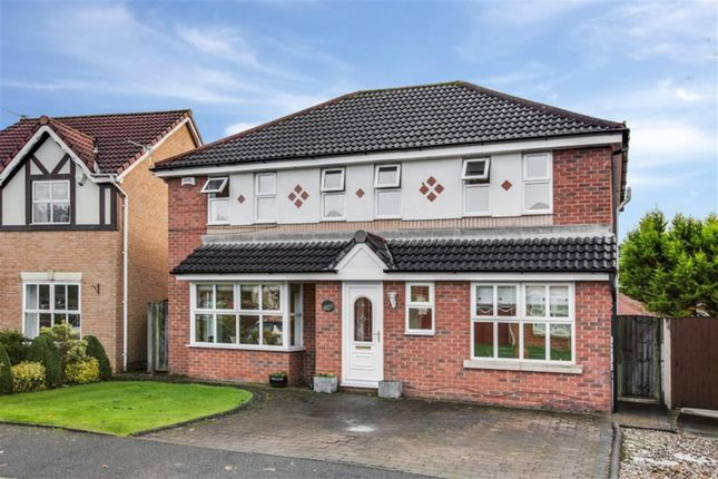 Thumbnail Detached house for sale in Greylag Crescent, Worsley, Manchester