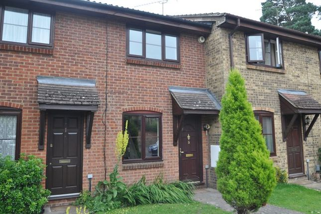 Thumbnail Terraced house to rent in Myers Way, Frimley, Camberley