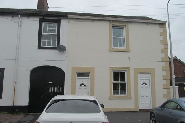 Thumbnail Terraced house to rent in Swan Street, Longtown, Carlisle, Cumbria