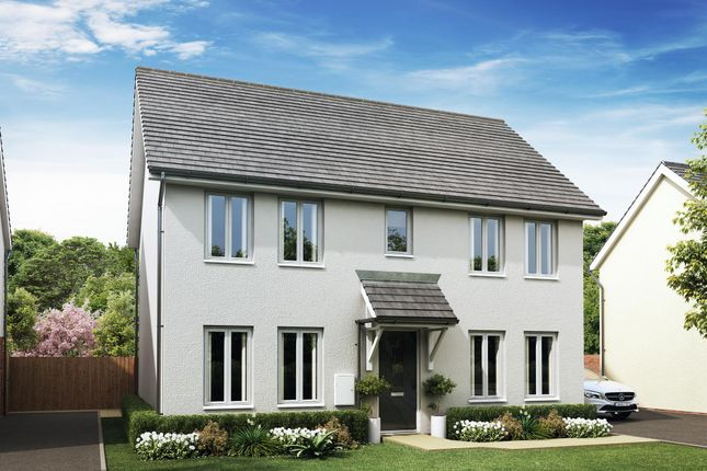 "Thumbnail Detached house for sale in ""Thornbury"" at Godwell Lane, Ivybridge"