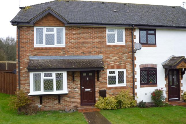 Thumbnail End terrace house to rent in Robinwood Drive, Seal, Sevenoaks