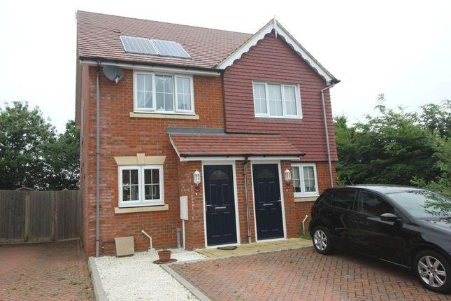 Thumbnail Semi-detached house for sale in Carrington Place, North Hailsham, East Sussex