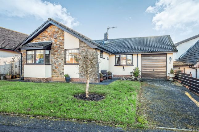 Thumbnail Detached bungalow for sale in Leiros Parc Drive, Bryncoch, Neath