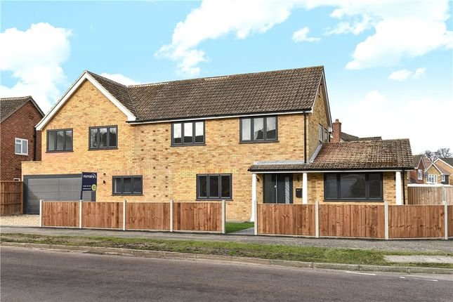 Thumbnail Detached house for sale in Hall Farm Crescent, Yateley, Hampshire