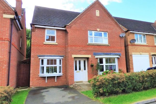 Thumbnail Detached house for sale in Breezehill, Wootton, Northampton