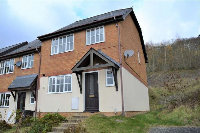 Thumbnail Terraced house to rent in 11, Primrose Drive, Llanllwchaiarn, Newtown, Powys