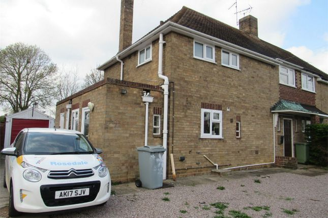Thumbnail Semi-detached house to rent in Ancaster Road, Bourne, Lincolnshire