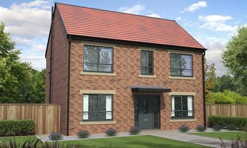 Thumbnail Detached house for sale in Howards Green, Edward Pease Way, Darlington, England
