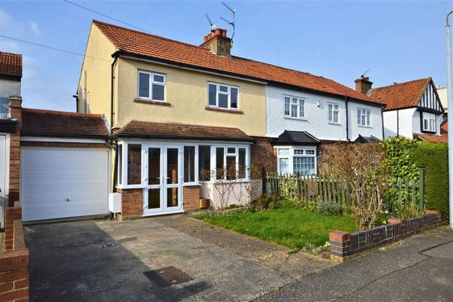 Thumbnail End terrace house to rent in Granville Road, Epping