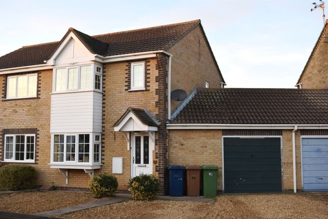 3 bed semi-detached house for sale in Moorhen Road, Whittlesey, Peterborough