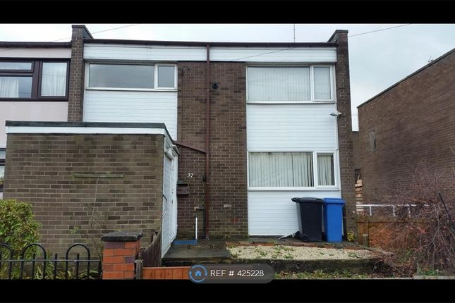 Thumbnail End terrace house to rent in Badger Drive, Sheffield