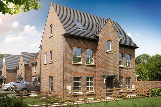 "Thumbnail Detached house for sale in ""Hexham"" at Rykneld Road, Littleover, Derby"