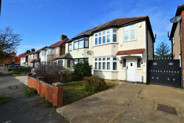 Thumbnail Semi-detached house to rent in Worton Gardens, Isleworth
