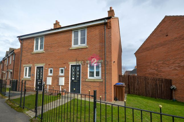 Thumbnail Semi-detached house to rent in Deepwell Mews, Halfway, Sheffield
