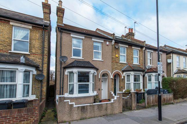 Thumbnail End terrace house for sale in Benson Road, Croydon