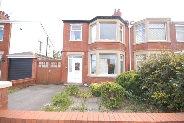 Thumbnail Semi-detached house to rent in Tewkesbury Avenue, Blackpool, Lancashire