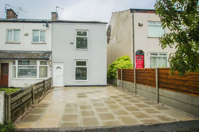 Thumbnail End terrace house to rent in Bolton Road, Worsley, Manchester