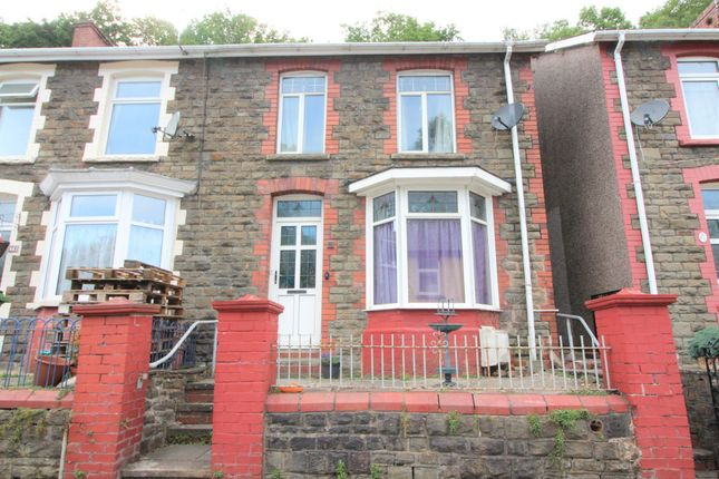 Thumbnail End terrace house for sale in North Road, Newbridge, Newport