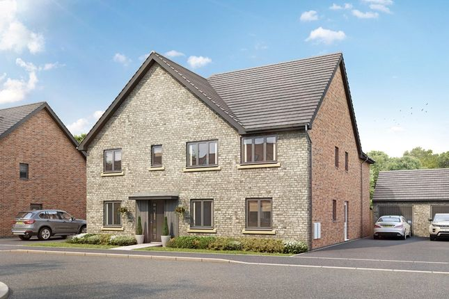 Thumbnail Detached house for sale in Grasslands Close, Witney, Oxfordshire