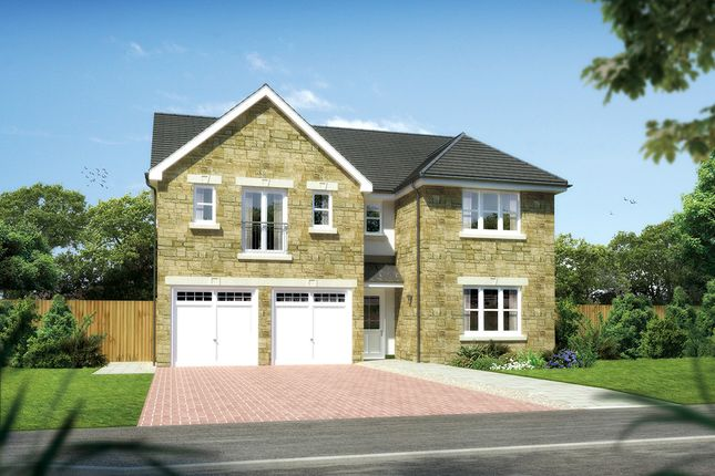 """Thumbnail Detached house for sale in """"Kingsmoor"""" at Hunter's Meadow, 2 Tipperwhy Road, Auchterarder"""