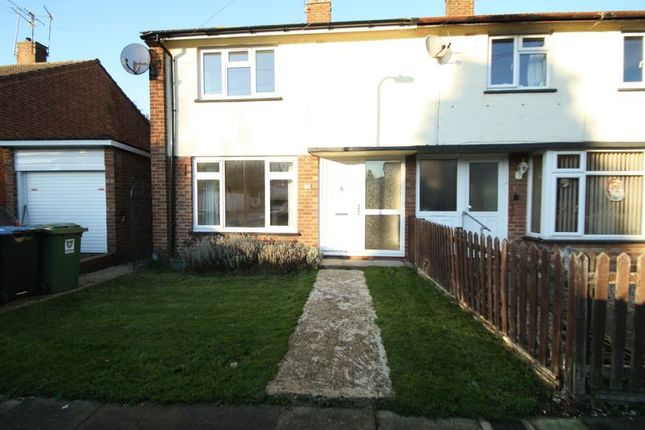 Thumbnail End terrace house to rent in Belsize Close, Hemel Hempstead