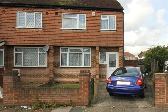 Thumbnail End terrace house for sale in Cranford Drive, Hayes