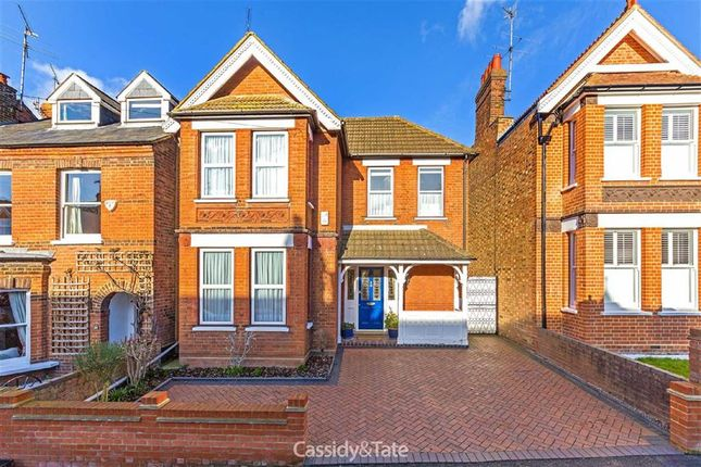 Thumbnail Detached house for sale in Worley Road, St Albans, Hertfordshire