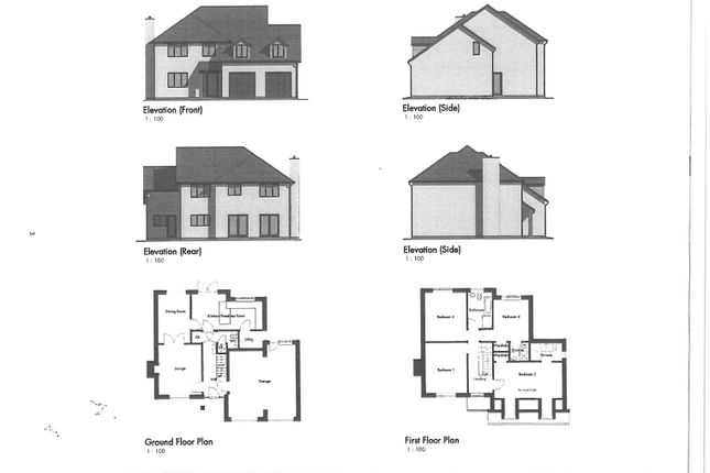 Thumbnail Detached house for sale in Trevarthian Road, St Austell, St. Austell